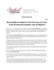 2013-06-25 - Stratford Festival