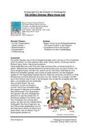 Die wilden Zwerge: Mara muss mal - Klett Kinderbuch
