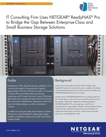 Case_Study_IDS:Middle Pages.qxd - Netgear