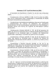 Portaria nº 227 - Sociedade Brasileira de Cirurgia Cardiovascular
