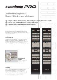 Folder Symphony PRO finnisch V1.0, A4, 2stg CS4.indd - Ruwido