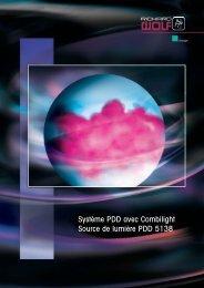 Système PDD avec Combilight Source de lumière ... - Richard Wolf
