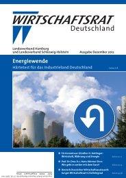 Energiewende - Wirtschaftsrat der CDU e.V.