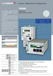 Energie- Meßtechnik und Management - Iskraemeco