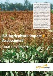 Surat Gas Project EIS - Agriculture Impact Assessment - Arrow Energy