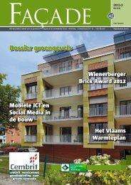 Dossier groengevels - Magazines Construction