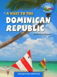 Lesson 3:A Visit to the Dominican Republic
