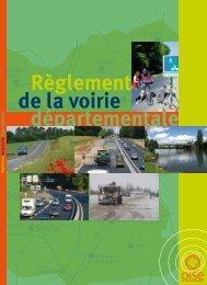 départementale Règlement de la voirie - Conseil général de l'Oise