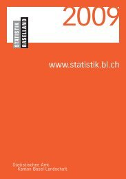 Grafikseiten 2009, 12 kommentierte Grafiken - Kanton Basel ...