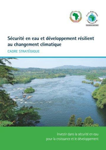 Sécurité en eau et développement résilient au changement climatique
