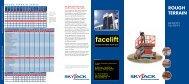 Spec Sheet for Skyjack 8831 - Facelift