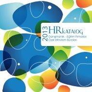 2 Sayfa Tanıtım - HR İnsan Kaynakları ve Yönetim Dergisi