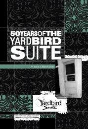 50yearsofthe - Yardbird Suite