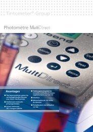 Catalogue Lovibond - VitaPiscine