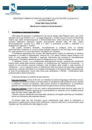 FASE PER FACILITATORI - Agenzia di Sanità Pubblica della ...