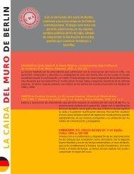LA CAIDA DEL MURO DE BERLIN - Sector Lenguaje y Comunicación