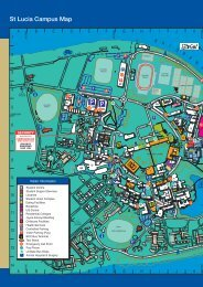 St Lucia Campus Map - School of Information Technology and ...