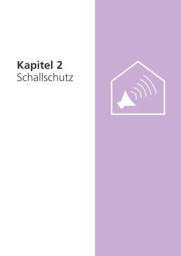 Kapitel 2 Schallschutz