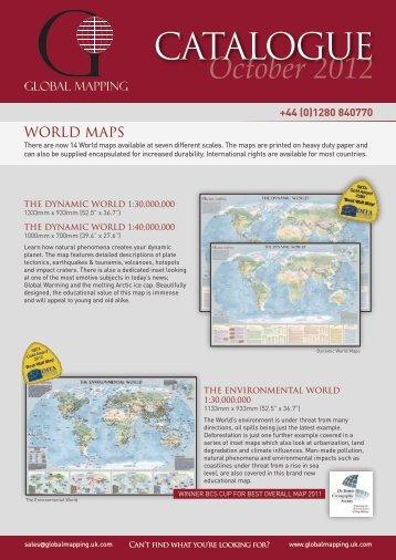 CATALOGUE October 2012 - Global Mapping - Uk.com