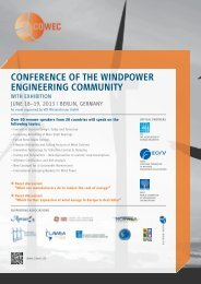 conference of the windpower engineering community - CGR Legal