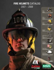 FIRE HELMETS CATALOG 2007 – 2008