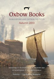 Ordering Information - Oxbow Books
