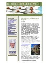 February - American Culinary Federation