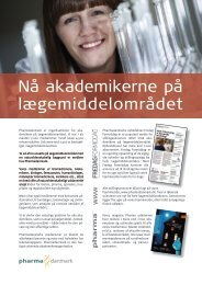 Download samlet medieinformation 2013-14 her ... - Pharmadanmark