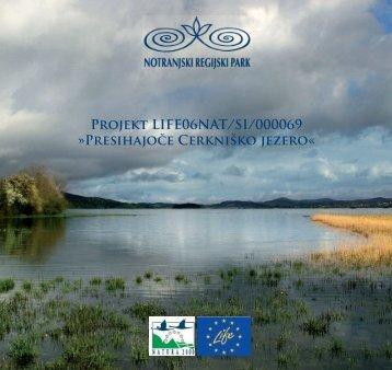 Zgibanka Projekt LIFE06/NAT/SI/000069 - Presihajoče Cerkniško ...