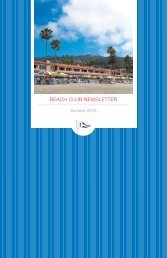 to view our 2013 summer newsletter. - La Jolla Beach & Tennis Club