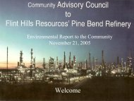 CAC Environmental Report to the Community - Flinthillscac.org