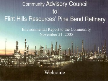 CAC Environmental Report to the Community - Flinthillscac.org