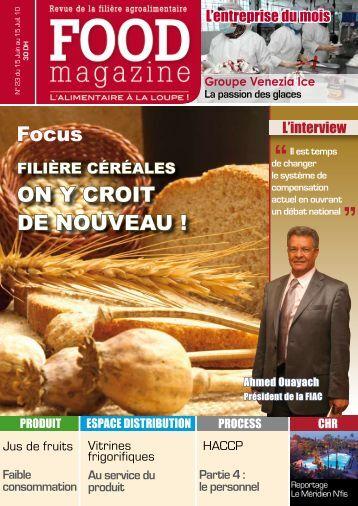 N°22 : Unités de restauration et production ... - FOOD MAGAZINE