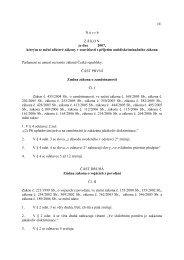 Návrh zákona, kterým se mění některé zákony v souvislosti s přijetím ...