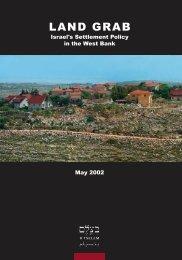LAND GRAB - Israel's Occupation