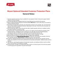 2010 Commercial Warranty Order Form - Behler-Young