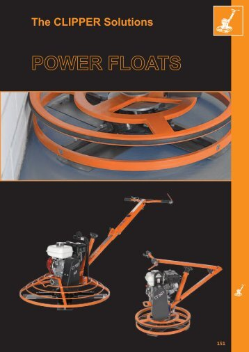Power Floats - Norton Construction Products