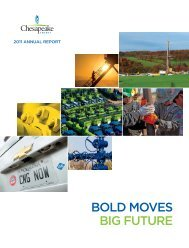 Chesapeake Energy Corporation 2011 Annual Report