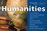 American Studies Communication and Rhetoric ... - Nazareth College