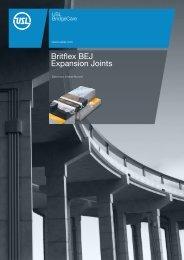 Britflex BEJ Expansion Joints - StonCor Africa