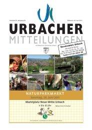 Sonntag, 26. Juni 2011 - Gemeinde Urbach