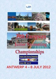 ANTWERP 4 – 8 JULY 2012