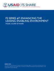 Enhancing the Leasing Enabling Environment - Economic Growth ...