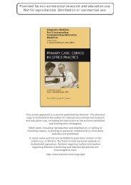 Integrative Primary Care - UW Family Medicine