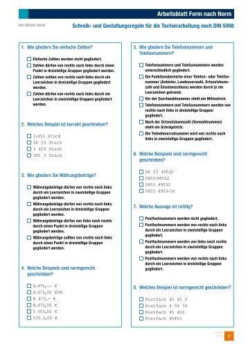 Charmant Test Unter Praxis Arbeitsblatt Zeitgenössisch ...