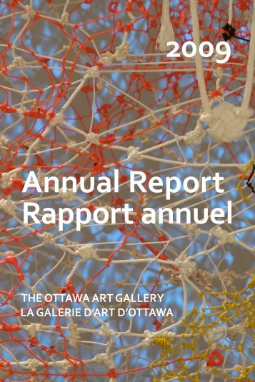 Annual Report 2009 - Ottawa Art Gallery