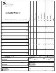 Instructor Trainer - Lifesaving Society