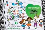 GetYourGirlPower.org - Girl Scouts of Central Illinois