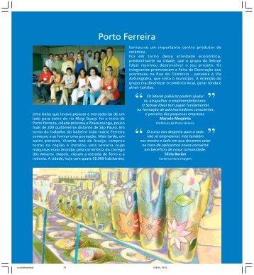 Porto Ferreira - Sebrae