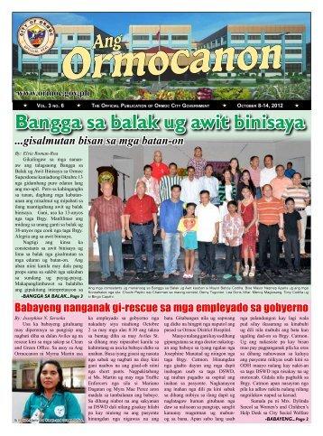 Bangga sa balak ug awit binisaya - City Government of Ormoc